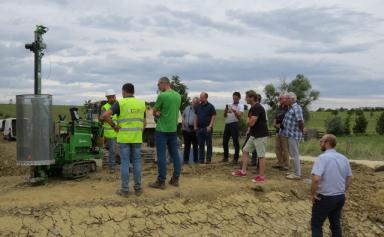 Visite de chantier à Barbonville