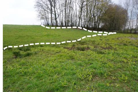 Délimitation de zone humide à Escles